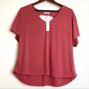 NWT V-Neck Stretch Top Medium